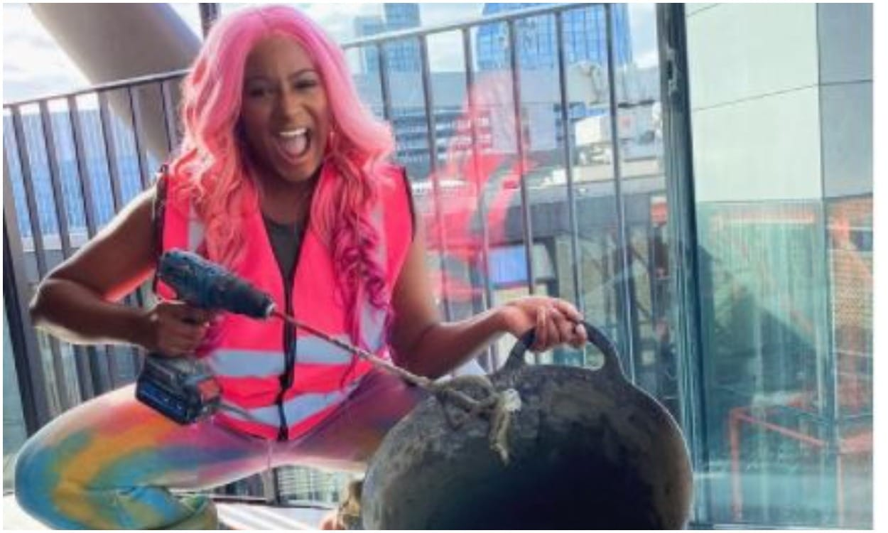 Dj cuppy acquires a home