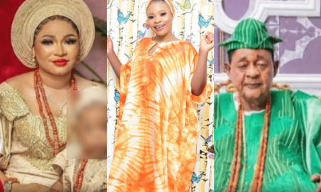 Omolewa, Alaafin of Oyo and Queen Dami