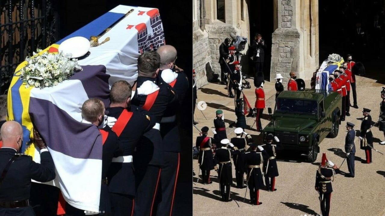 Burial of Prince Philip, husband to Queen Elizabeth II