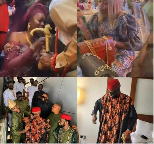 Don Jazzy, Waje other and others storm Ikechukwu traditional wedding