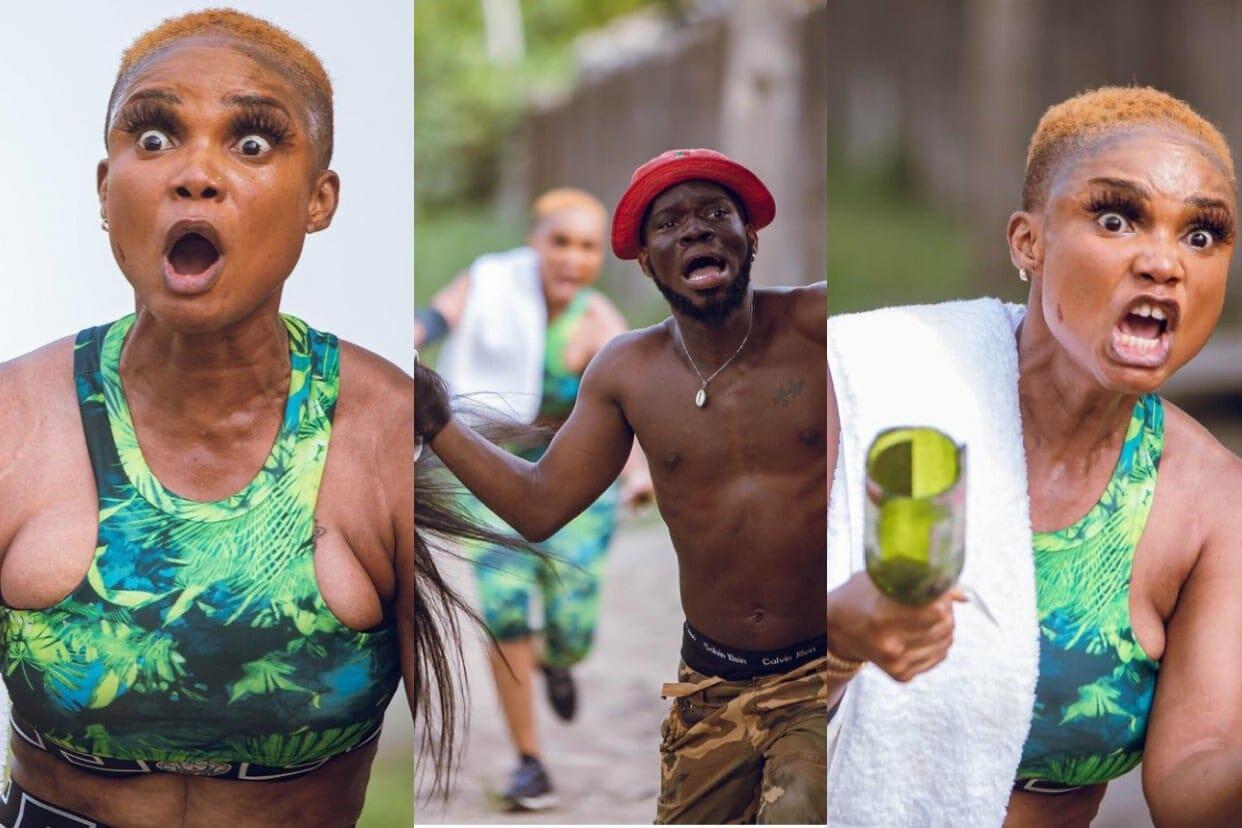 These 'fierce' photos of Iyabo Ojo and Broda Shaggi is sparking reactions on social media