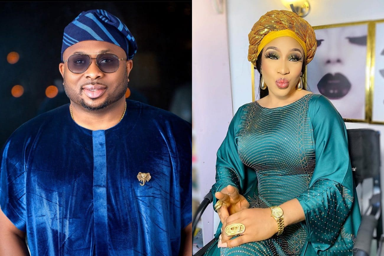 Is Tonto Dikeh shading her ex-hubby, Churchill again