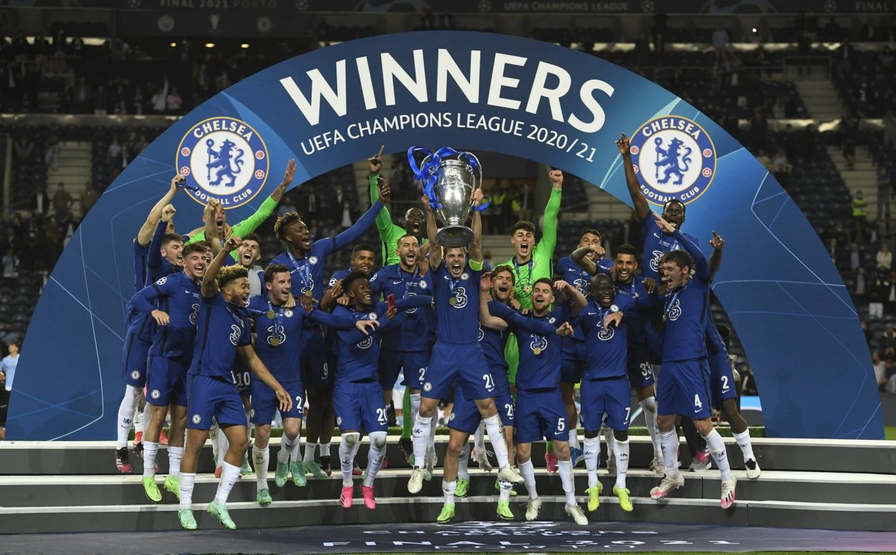 Chelsea win UCL 2021
