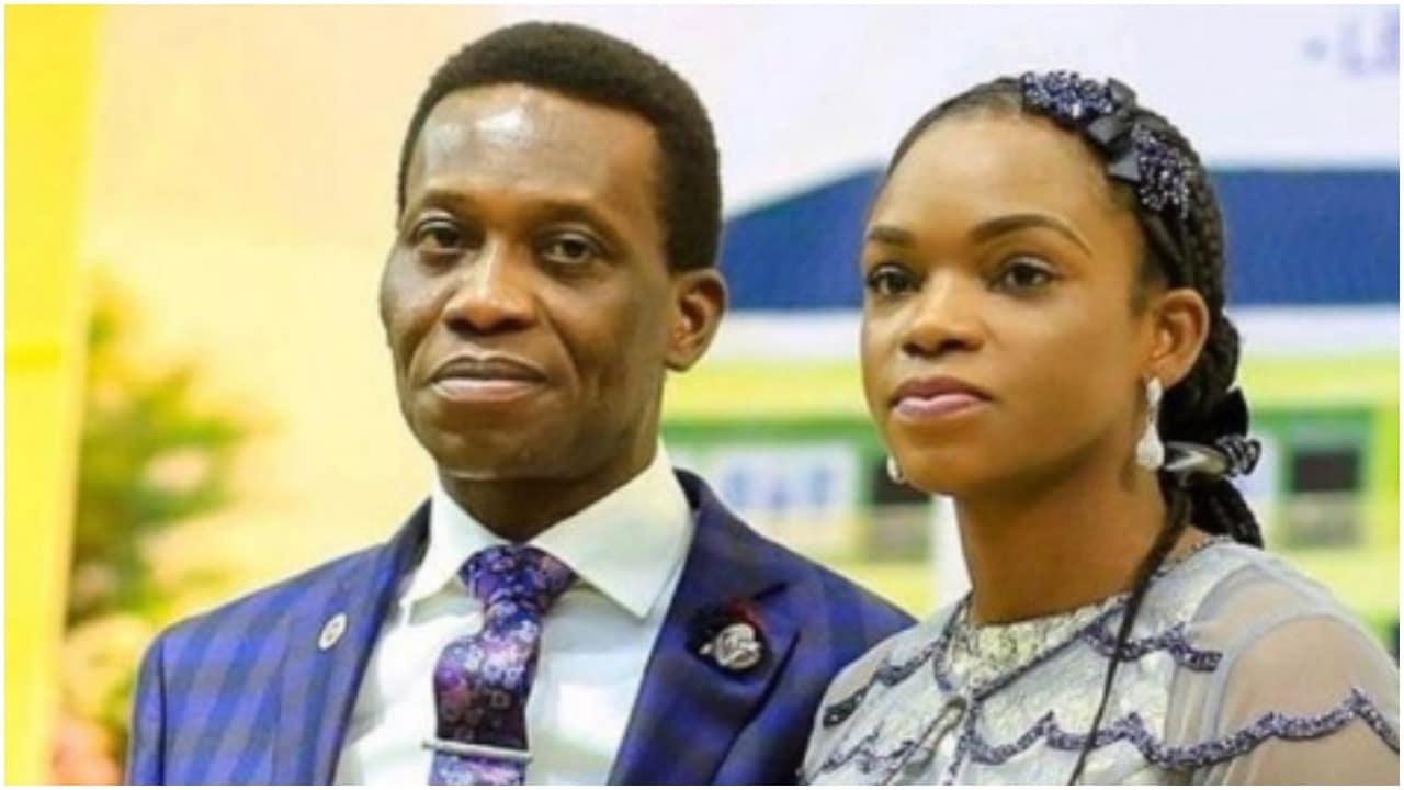 Dare Adeboye and wife