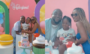 Davido's daughter's birthday
