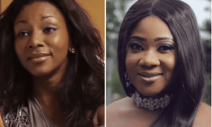 Mercy Johnson ignores Genevieve