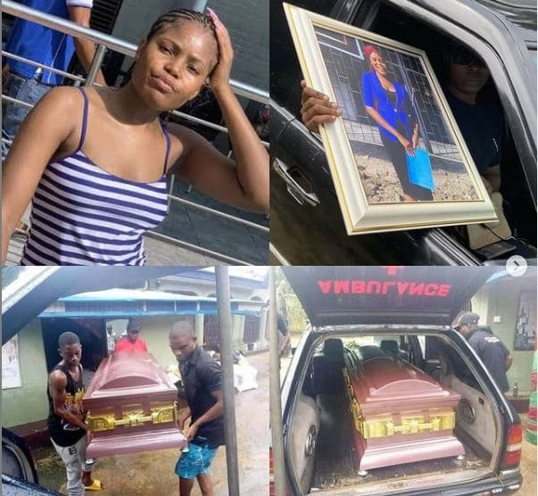 Heartbreaking photos from the funeral of Iniubong Umoren