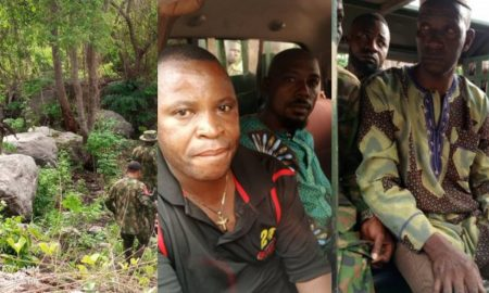 Kwara govt busts kidnappers' hideouts (Photos)
