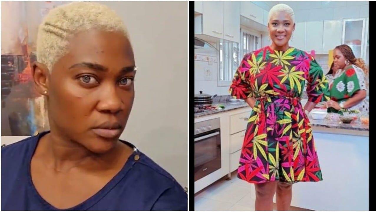 Mercy Johnson new hairstyle