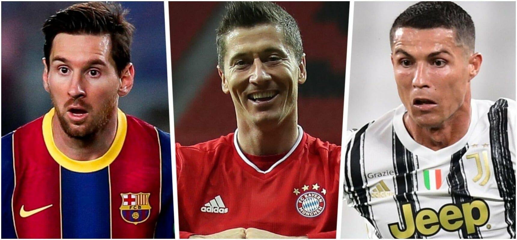 Messi x Lewandoski x C. Ronaldo