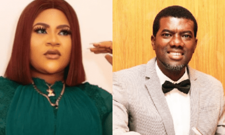 Nkechi blessing and Reno Omokri