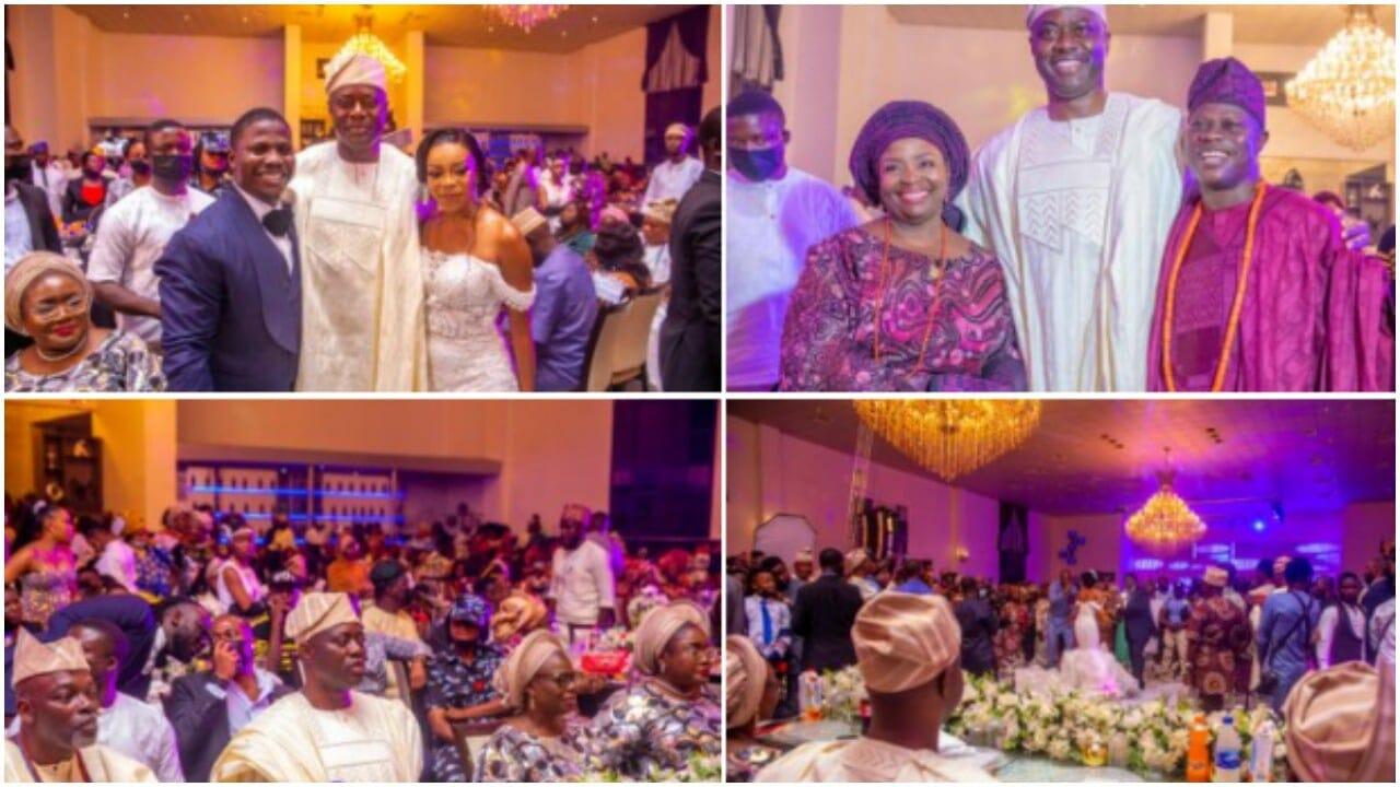 seun fakorede wedding