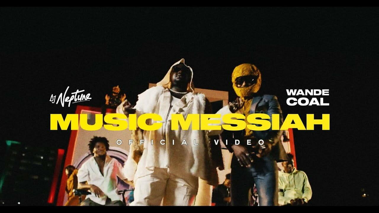 Music Video: DJ Neptune feat. Wande Coal – Music Messiah