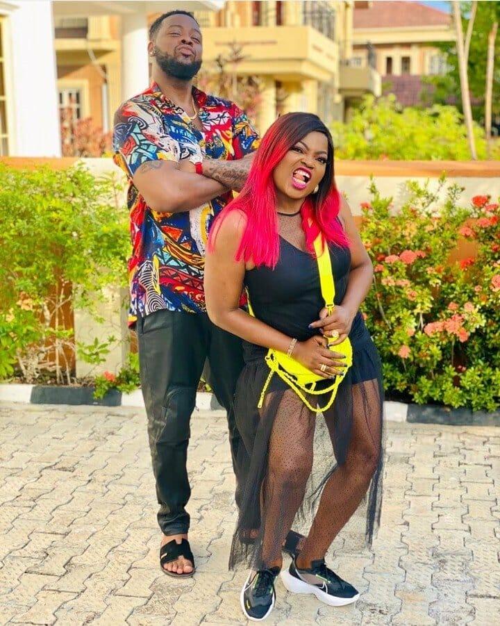 Funke Akindele says she loves Teddy A