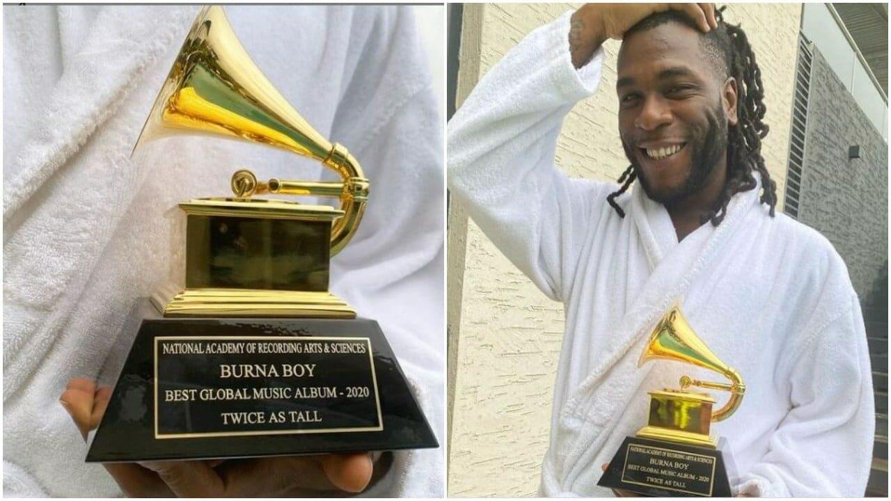 Grammy Award Burna boy