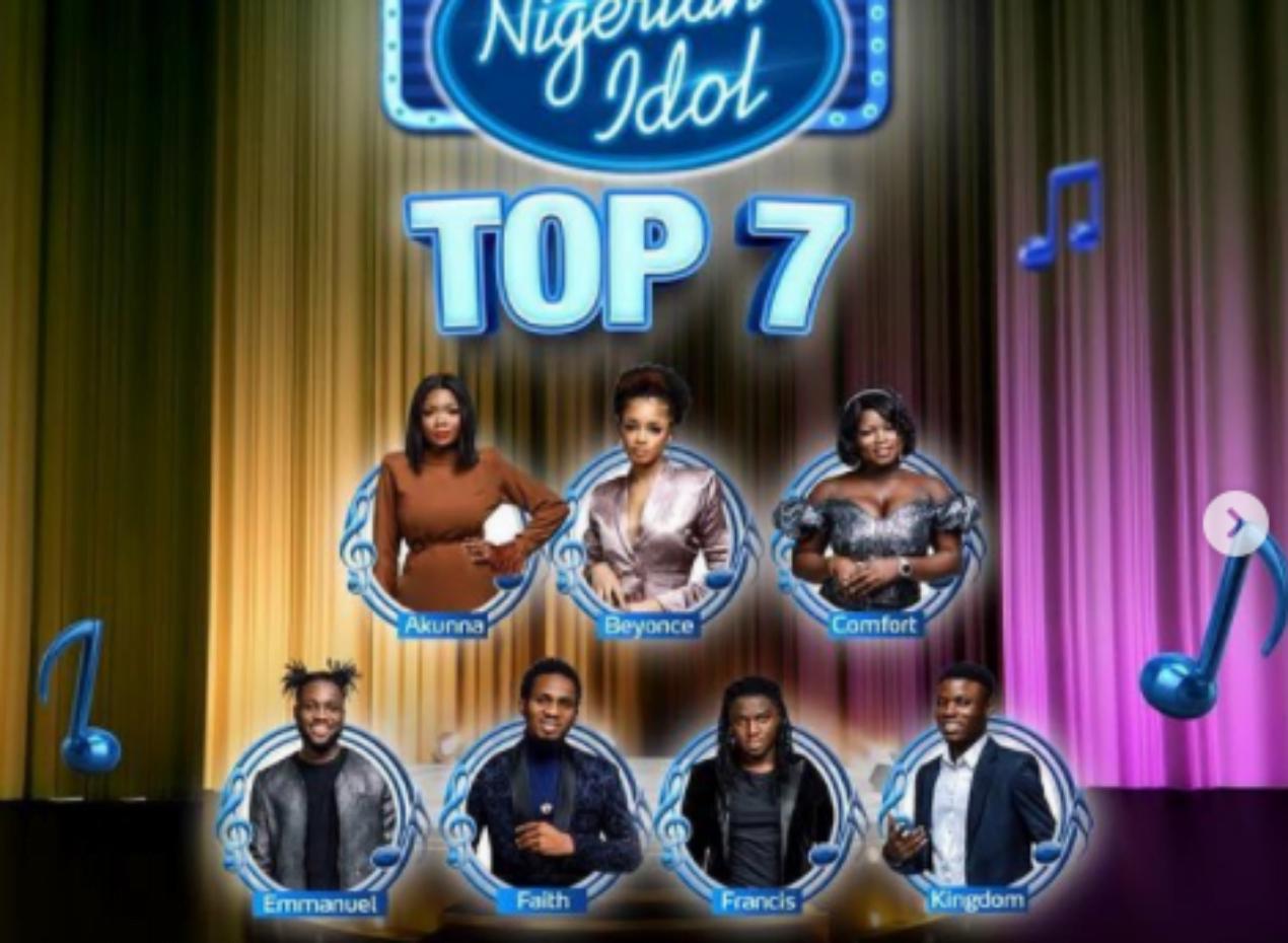 Nigerian Idol top 7