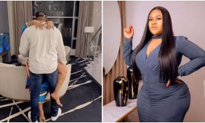 Nkechi blessing with her man
