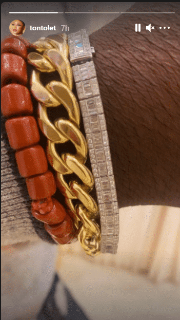 Tonto Dikeh gifts her politician boyfriend N2.5M Diamond bracelet