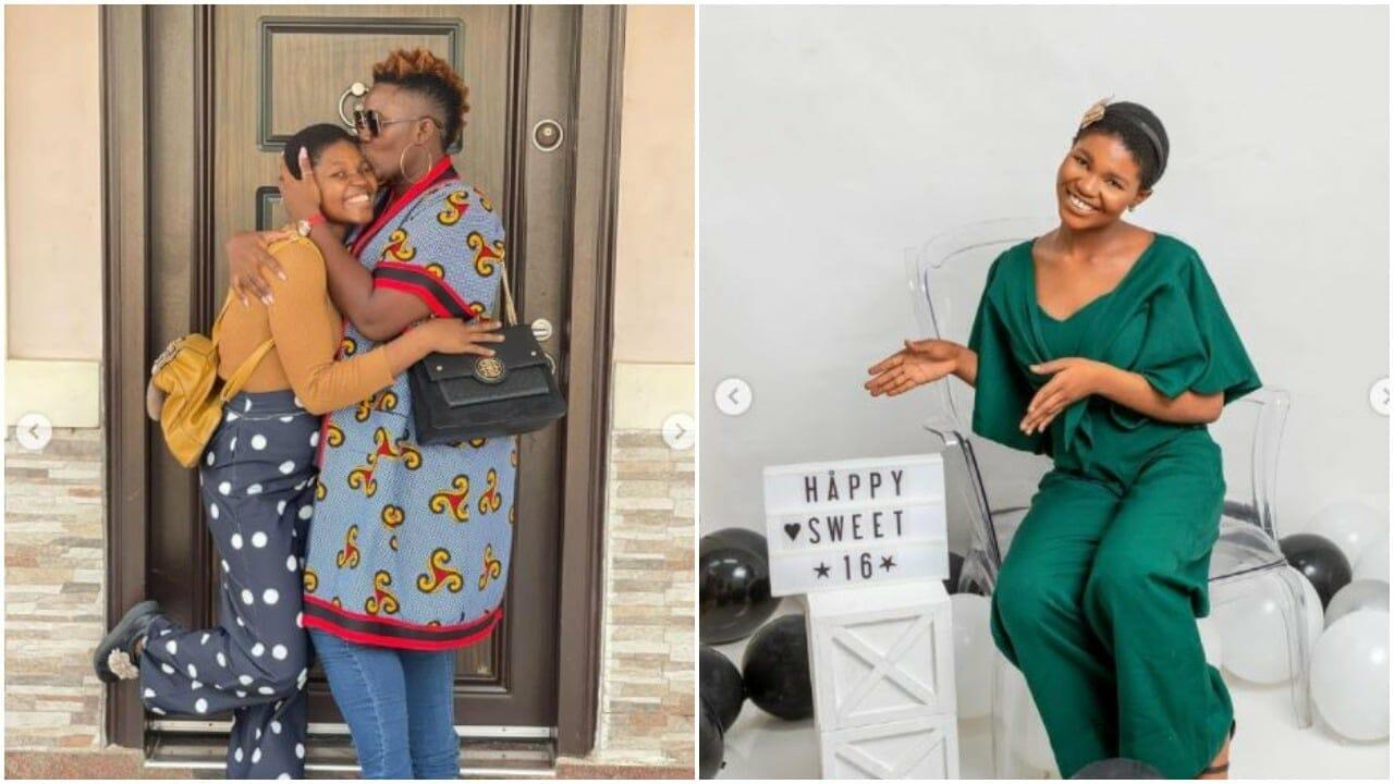 Real Warri Pikin celebrates house help