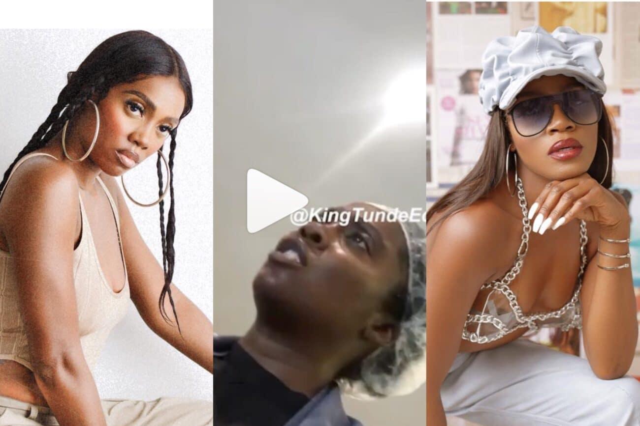 Tiwa Savage, Seyi Shay fight dirty