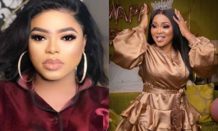 Bobrisky and Mercy Aigbe