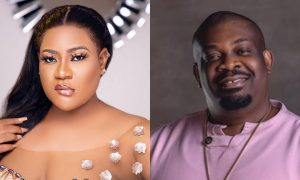Nkechi and Don Jazzy