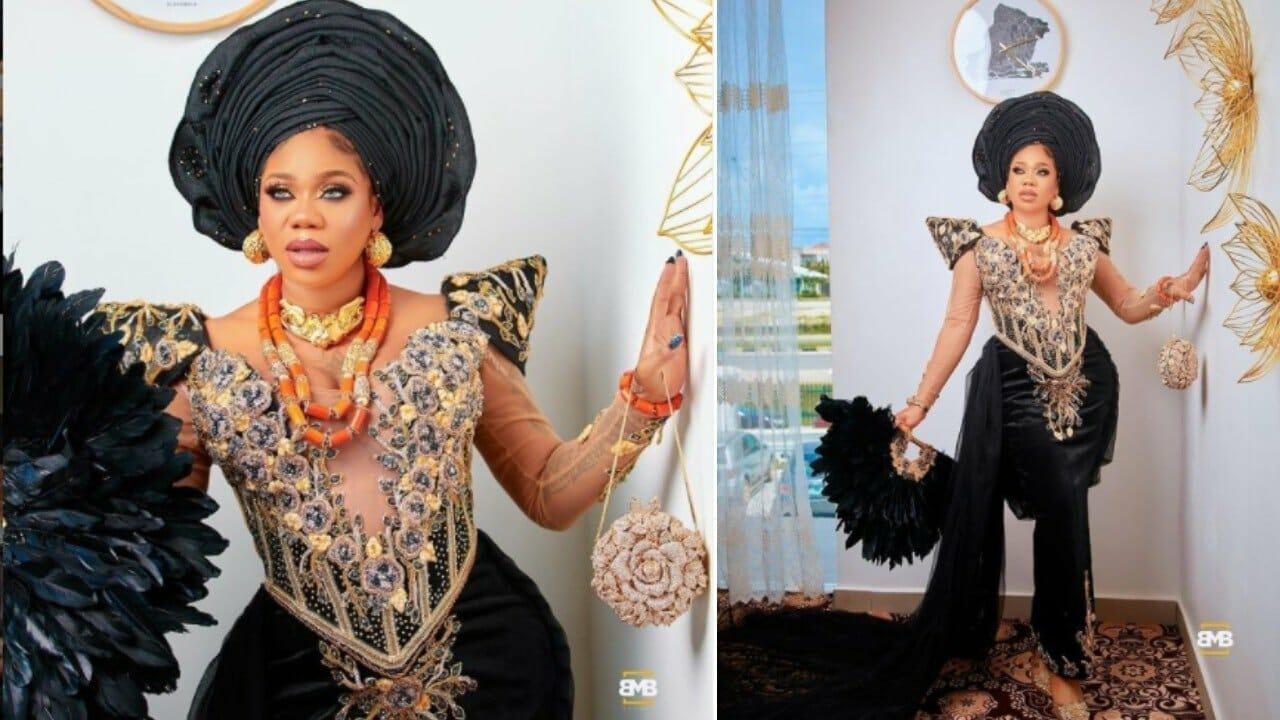 Celebrity stylist Toyin Lawani causes a stir with a photo
