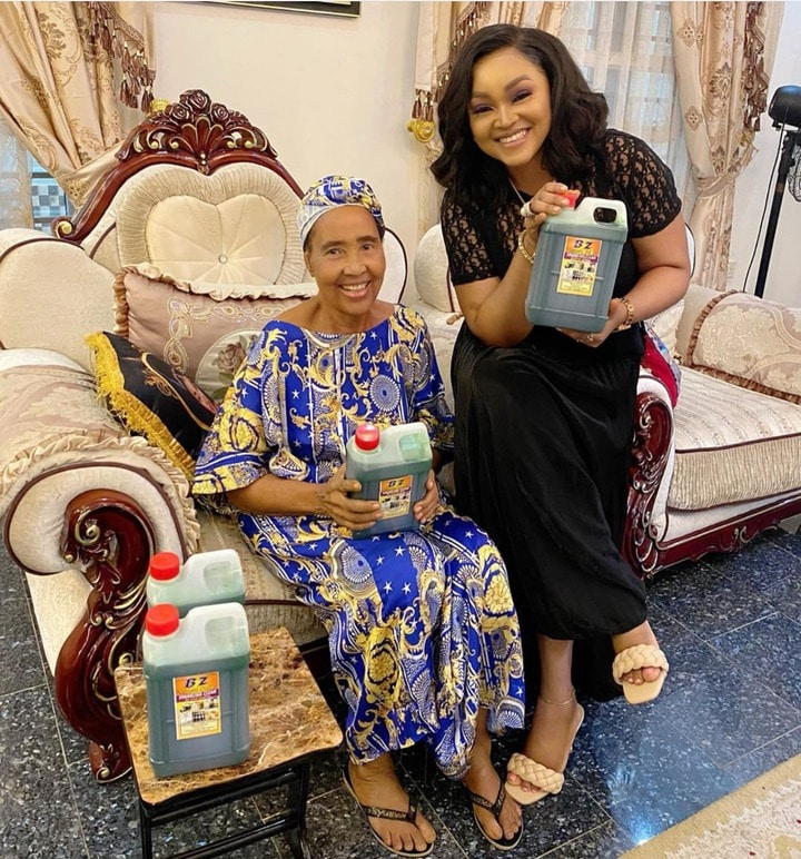Mercy Aigbe's mother