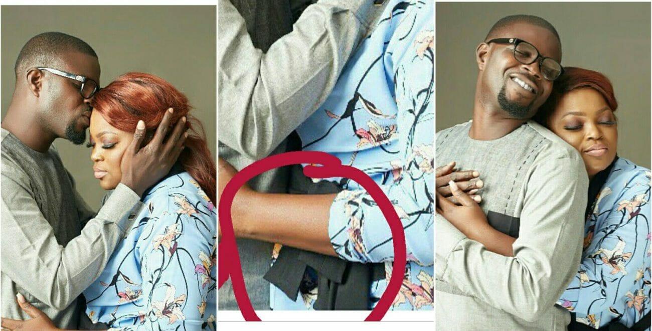 Funke Akindele's pregnancy