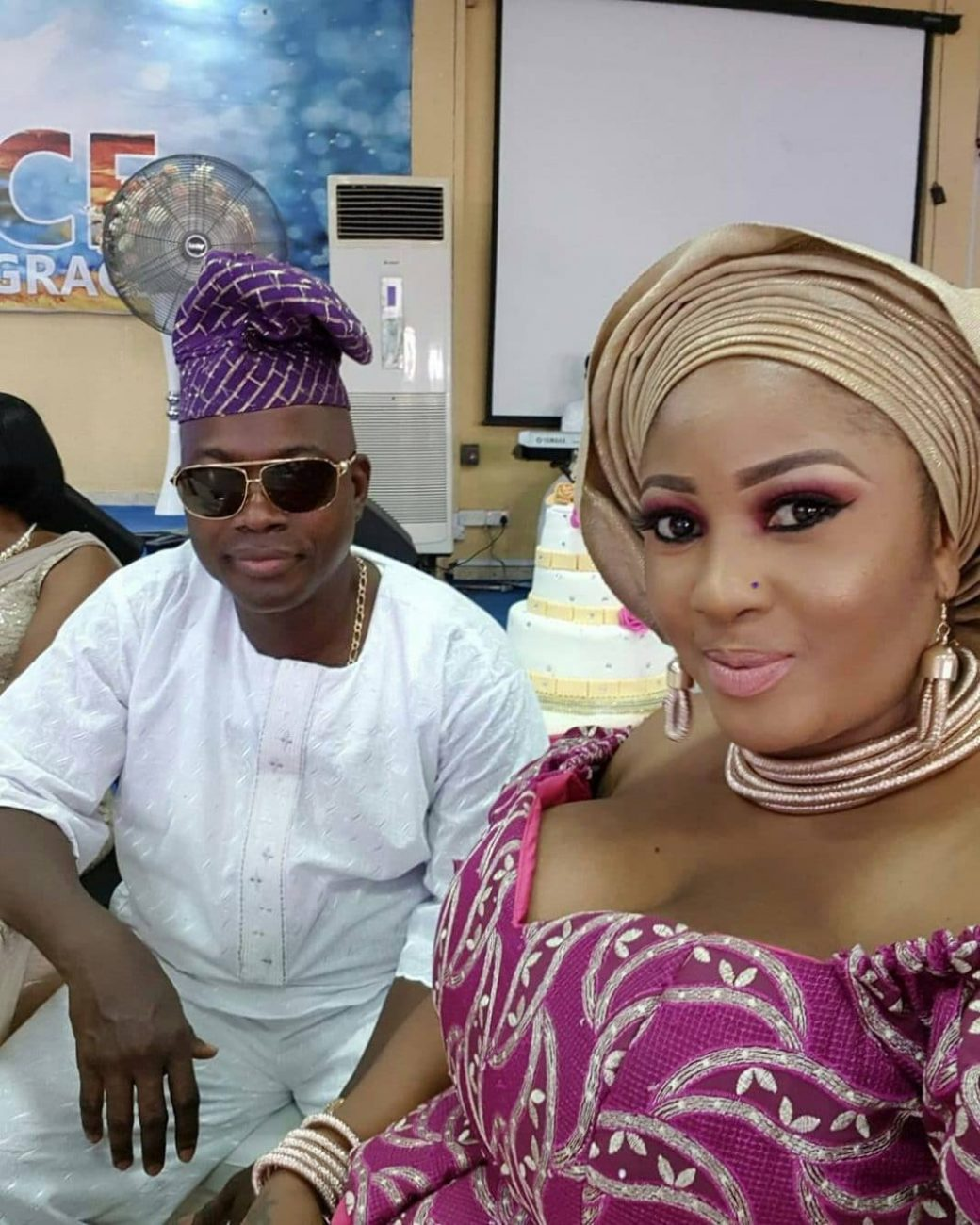 Tope Osoba finally shows off her man