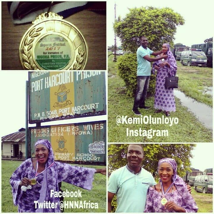 Kemi Olunloyo awarded Gold medal in Nigerian Prison