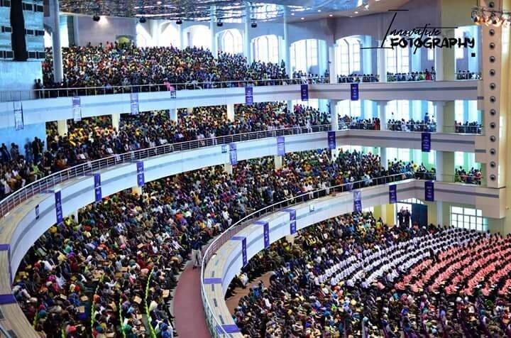 Deeper Life Bible Church auditorium