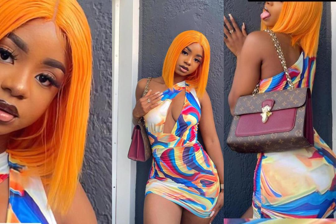 Iyabo Ojo's daughter, Priscilla says she is a problem as she shares 'revealing' photo