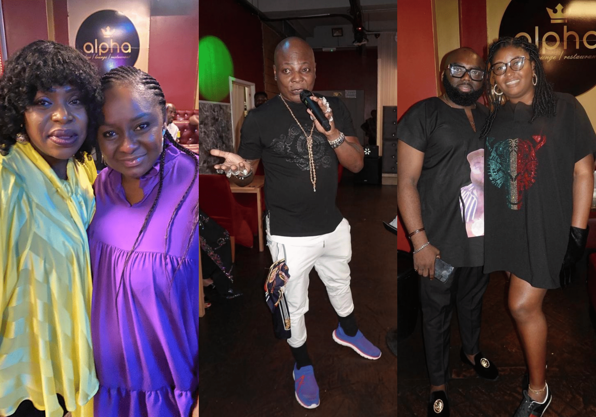 Charly Boy in London