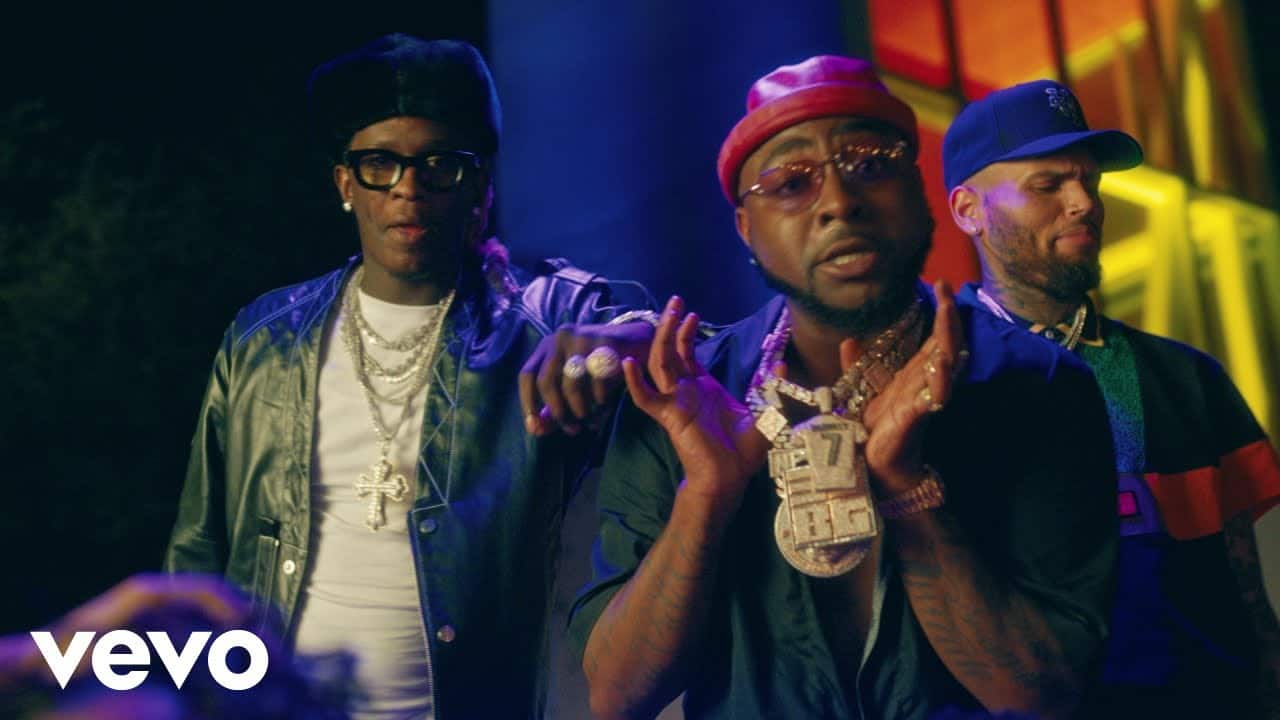 Davido feat. Chris Brown & Young Thug – Shopping Spree