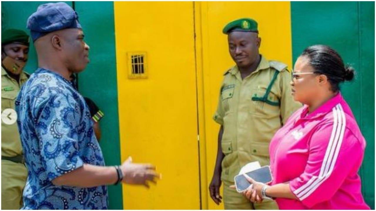 Dayo visit Prisoners