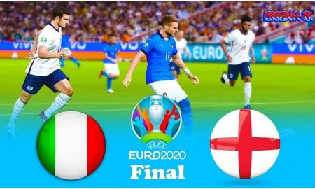England and Italy euro 2020 final