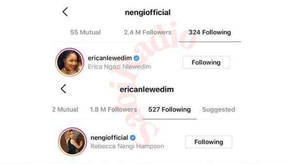 Erica and Nengi