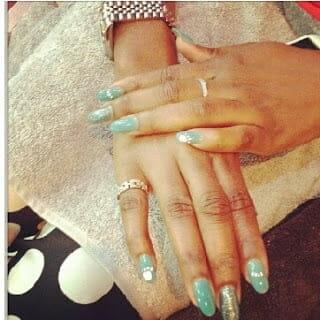 Genevieve Nnaji wedding ring