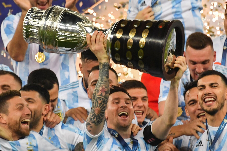Messi Copa 2021