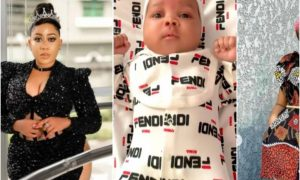 Moyo Lawal reacts as Uche Ogbodo baby