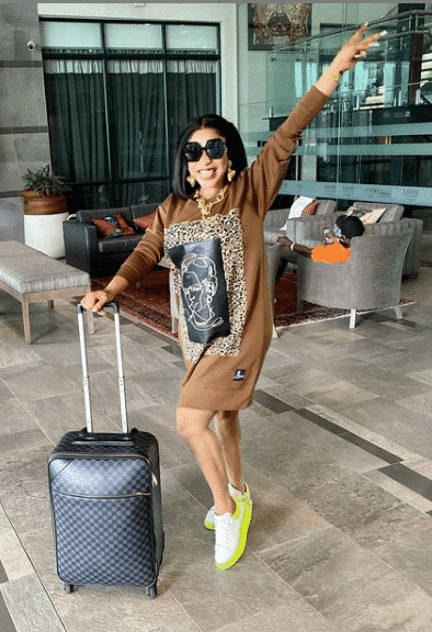 'I'm going to my husband's house' – Tonto Dikeh announces