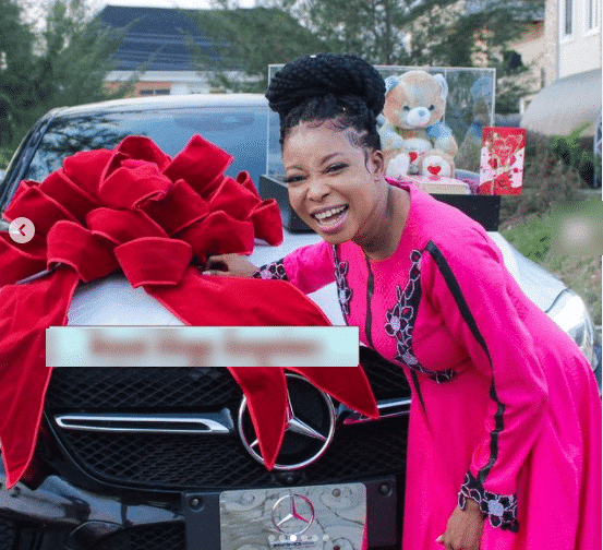 Lizzy Anjorin's husband gifts her latest Benz car worth millions of Naira  for their wedding anniversary - 247 News Around The World