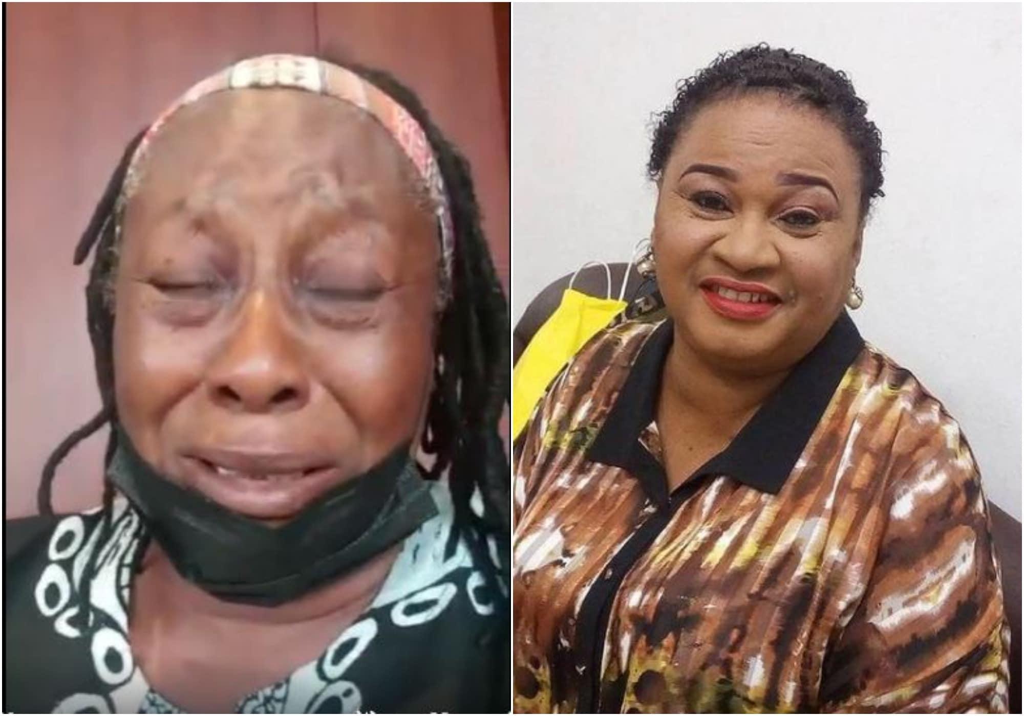 Patience Ozokwo and Rachel Oniga