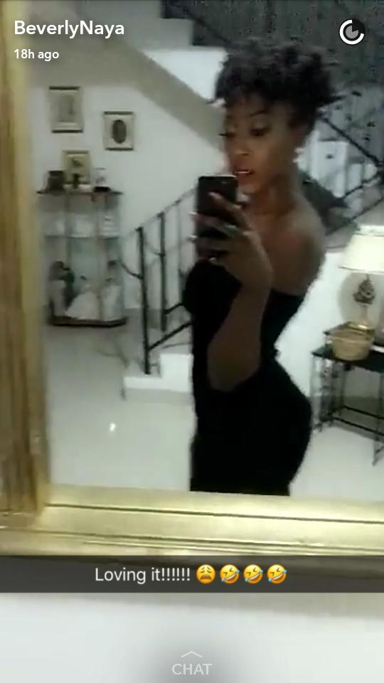 Actress Beverly Naya
