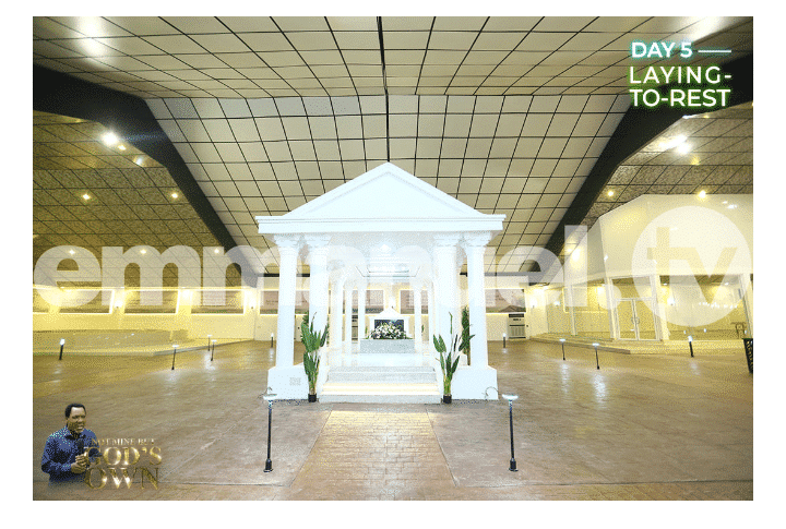 Late T.B Joshua's magnificent Mausoleum