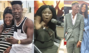 Shatta Wale and mother