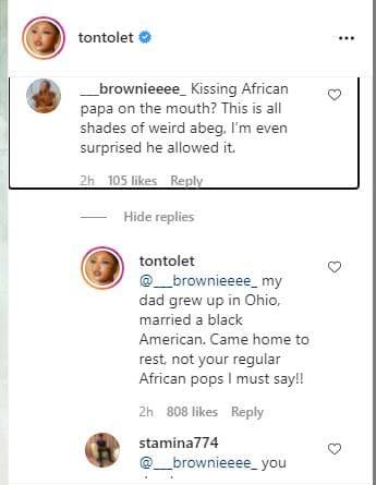 Tonto knocks