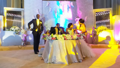 Chris Uba, gives out daughter's hand in marriage
