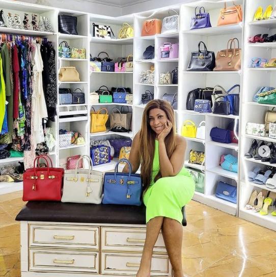 Linda Ikeji splashes over 30 million naira on 3 Birkin Hermes bags in one day